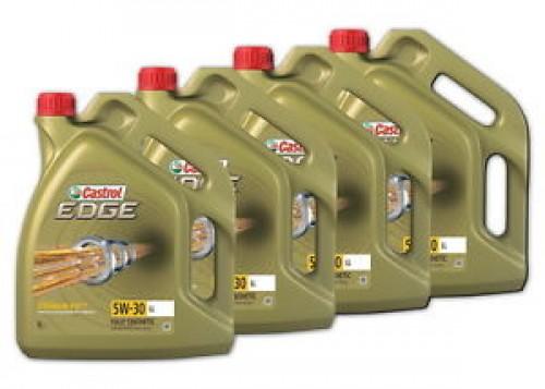 CASTROL EDGE Synthetic Engine Oil 5W30 LL 5L x 4 Multi Box (20L)