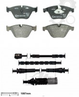 PROMO SET - Brake pads front + wear sensor BMW 5 (F10, F18), 5 (F11) 2.0-3.0D 12.09-