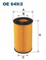 OE 649/2 Oil Filter